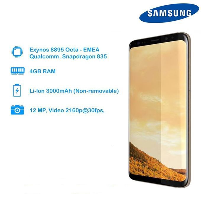 Samsung Galaxy S8 (64GB, Gold)