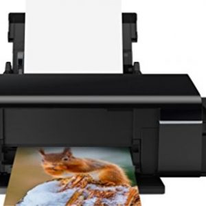 Epson L805 Colour Inkjet Printer,WIFI Connectivity, Black
